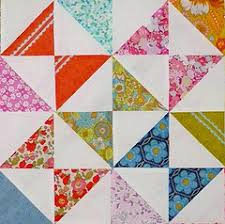 Hourglass Block Quilting